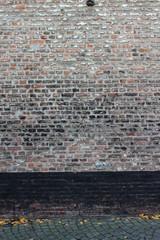 Hintergrund Ziegelsteinmauer