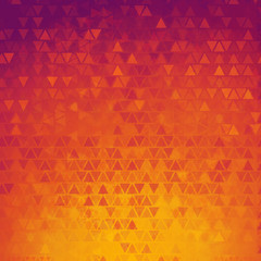 Gradient abstract triangles background