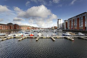 Swansea Marina South Dock area