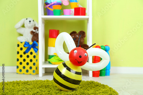 Simple balloon animals and other toys