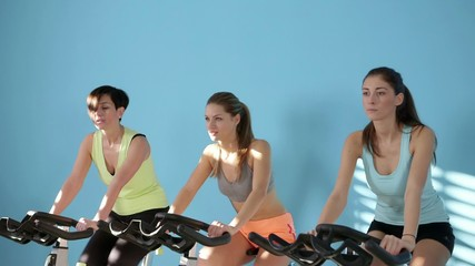 17of27 People training in fitness club, gym and sport activity