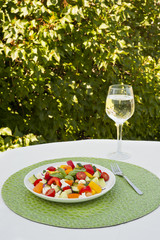 Summer Picnic Chickpea and Vegetable Salad