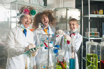 Cheerful chemists