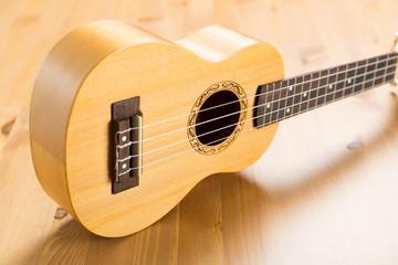 Hawaii wooden ukulele
