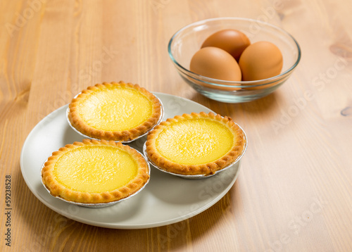 Hong Kong food, Egg tart and egg