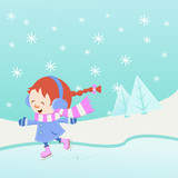 Ice Skating Girl