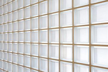 glass block wall background