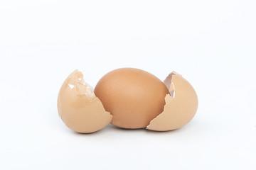 uovo con il doppio guscio
