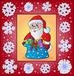 Christmas topic greeting card 3