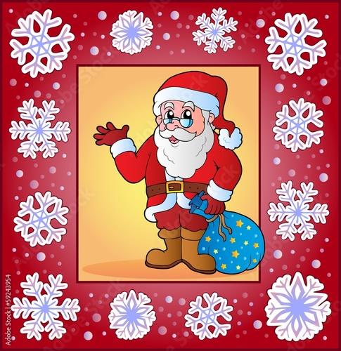 Christmas topic greeting card 4