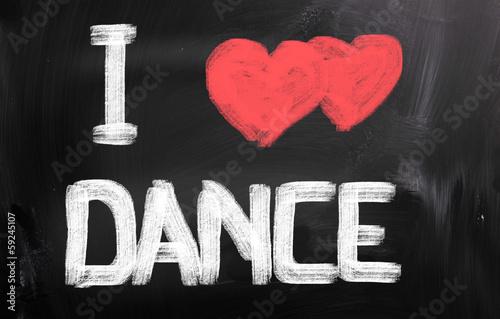 I Love Dance Concept - 59245107