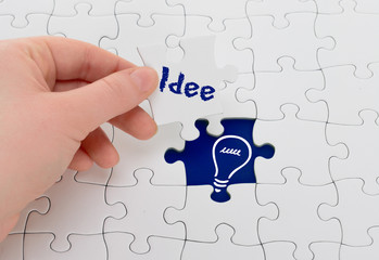 Konzeptentwicklung Puzzle