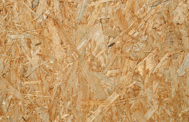 Oriented strand board.