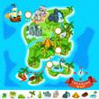 Pirate Treasure Map - 59247117