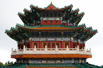 Buddhist temple on the Heavenly mountain. Zhangjiajie. China