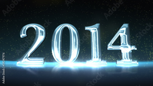 2014 New Years Celebration Animation