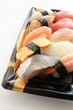 Japanese food, gourmet sushi lunch pack
