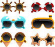 summer sunglasses set 2