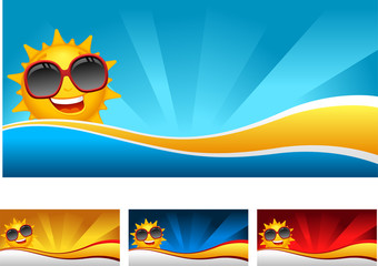 sunny banner