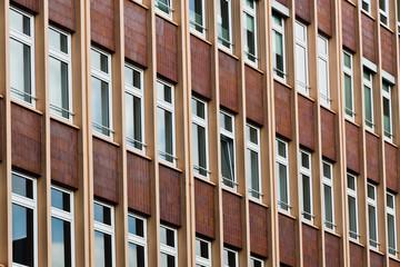 Häuserfront aus den 60ern
