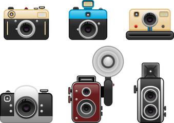 vintage cameras set 2