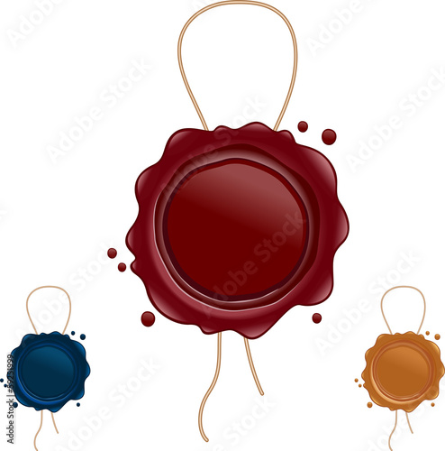 wax seals with string