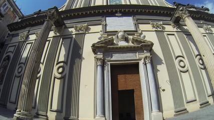 NAPLES, ITALY - San Paolo Maggiore Church