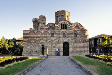 Church Pantocrator Christos in Nessebar, Bulgaria
