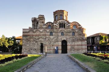 Church Pantocrator Christos in Nessebar, Bulgaria