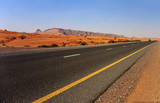highway in the Arabian desert