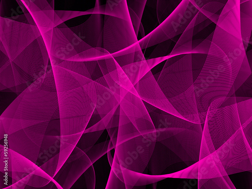 Deurstickers Abstract wave Abstract purple 3d background