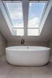 Urban apartment - attic bathroom