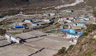 Village de Thame, Solukhumbu - Népal