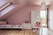 Urban apartment - girl's room