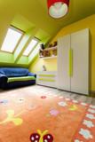 Urban apartment - colorful room