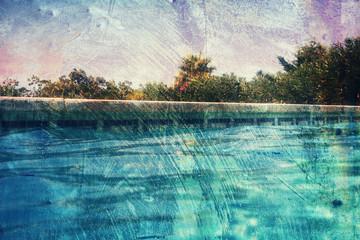grunge pool