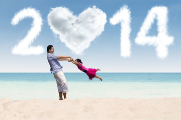 Happy holiday of the new year 2014