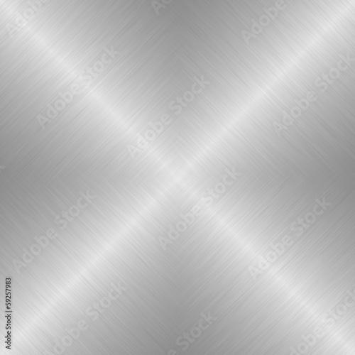 canvas print picture Silber mit linearem Strukturverlauf als Hintergrund