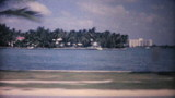 Florida Ocean Beach And Hotel-1961 Vintage 8mm film