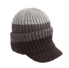 winter hat on white background