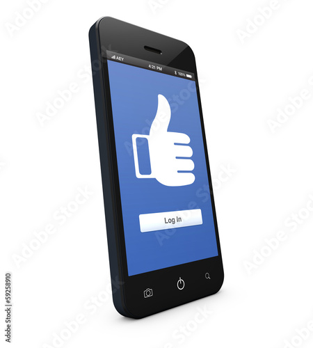 Smartphone socialmedia application
