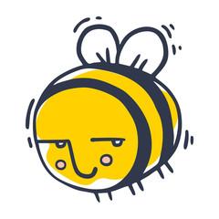 suspicious bee flies