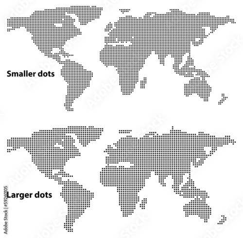 Dotted maps