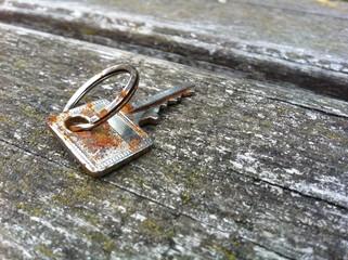 Verrosteter Schlüssel