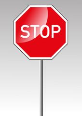 Stopschild Stop Stopp Verkehrsschild Verkehrszeichen