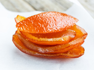 Candied orange peel- scorza arancia candita