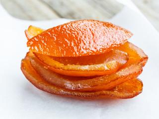 Candied orange peel- scorza arancia candita
