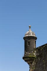 historic sentry box