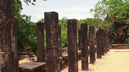 Ancient City of Polonnaruwa. Sri Lanka.