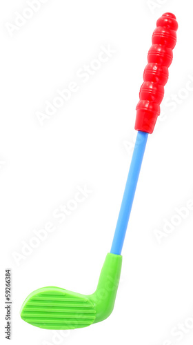 Colorful golf club toy